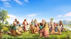 Where Exactly Is the Kingdom of God? Jesus Christ Painting, Jesus Art, End Of The Age, The Son Of Man, Kingdom Come, The Kingdom Of God, Children Of Men, Jesus Return, Kingdom Of Heaven