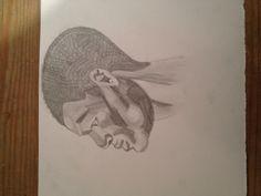 Ma propre illustration pour mon livre, Obame Sacqua