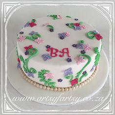 Flower Cake #flowercake