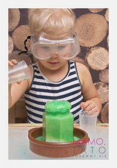 10-eksperymentow-dla-dzieci-kolorowe-wulkany Diy For Kids, Crafts For Kids, Kids And Parenting, Montessori, Diy And Crafts, Techno, Education, Children, Creative