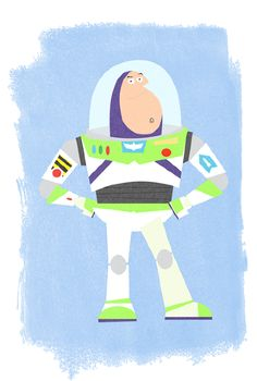 Super cute Buzz illustration by #ChrisAnderson