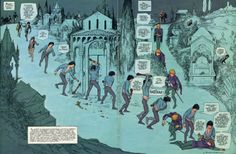 Comic as Theater: Gianni De Luca's Romeo and Juliet Comic Book Artists, Comic Artist, Comic Books, William Shakespeare, Romeo And Juliet, Single Image, Drawings, Lucca, Painting