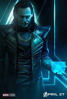 Loki Character Fan Art Poster