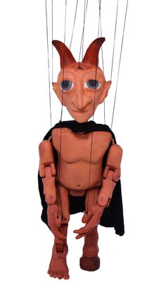 Devil 3d printed marionette Devil, 3d, Printed, Fictional Characters, Demons, Fantasy Characters