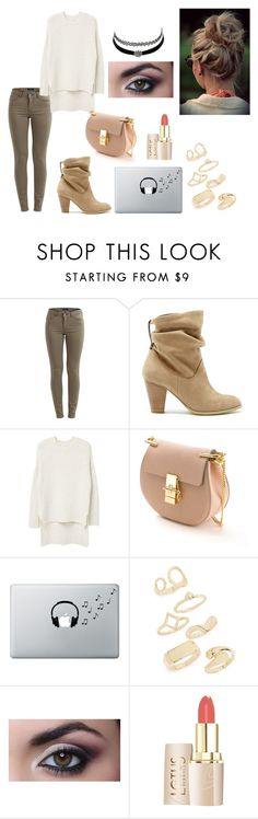 """Без названия #180"" by dina-6969 on Polyvore featuring мода, VILA, Sole Society, MANGO, Chloé, Music Notes, Charlotte Russe и Topshop"