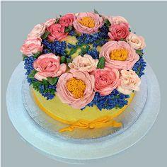 Rose cake 2 Katjas Cakes