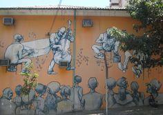 The Jazzy Wall, corner of Rua Cristiano Viana and Rua Teodoro Sampaio, São Paulo