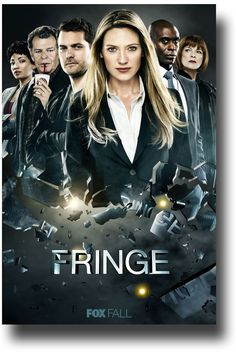 Fringe TV show poster #fringe Anna Torv #AnnaTorv Joshua Jackson