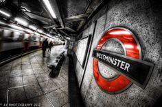 Urban Jungle by Aaron Yeoman, via 500px  #subway #underground #westminster