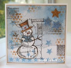 Kath's Blog......diary of the everyday life of a crafter: Layering Stencils...