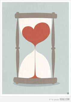 Our Love is an Hourglass #graphics #design