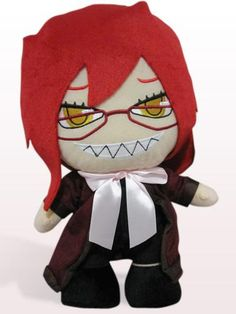 Black Butler Doll Merchandise   ... Black Butler 12cm Cosplay Doll   Wholesale Fashion Anime Merchandise