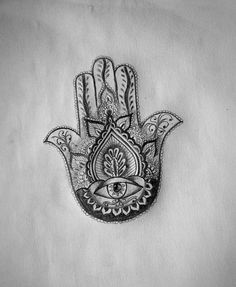 Just got a hamsa tattoo and the artist made soo many mistakes.  When it fully heals I'm getting a revision like this from somewhere else.