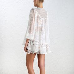 Explore the world of ZIMMERMANN and discover the latest Ready-to-Wear and Swim & Resort Collections from the Australian designer. Ready To Wear, Lace, How To Wear, Collection, Tops, Design, Women, Fashion, Moda
