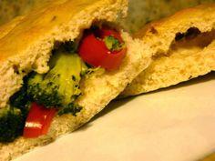 Profumo di broccoli: Focaccia croccante alla salvia