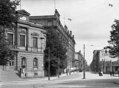 Helsinki in 1908 History Of Finland, Map Pictures, Helsinki, Time Travel, The Past, Street View, In This Moment, Black And White, City