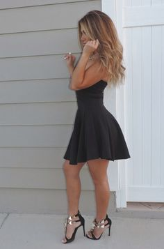 Strapless Baby Doll - Sailor and Saint - Online Clothing Boutique