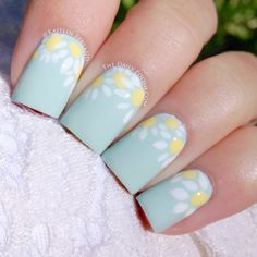 Break out your pastels, neons and brights. Spring has officially sprung, and that means one thing: it's time for some fresh nail art ideas! Keep reading for a roundup of the prettiest spring nail art and get inspired. This cute spring-themed chevron design can be accomplished using a nail striper (or a very steady hand). …