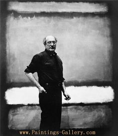 Mark Rothko - Abstract Expressionist - Paintings-Gallery.com