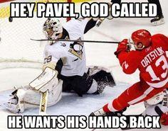 Pavel Datsyuk is Hockey God