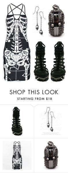 """Punk Bones"" by rebelsmarket-0 on Polyvore"