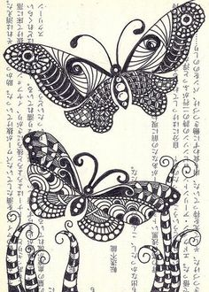 zentangle designs | doodle #zentangle #zendoodle / design concepts/ideas - Juxtapost