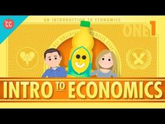 Economics Teachers Blog: Crash Course Economics - First Installment