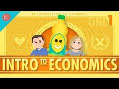 Economics Teachers Blog: Crash Course Economics - First Installment