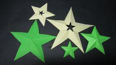Como cortar estrellas perfectas de 5 puntas.