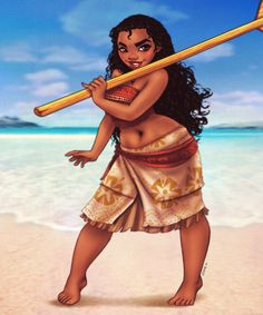 Moana by EddieHolly on DeviantArt
