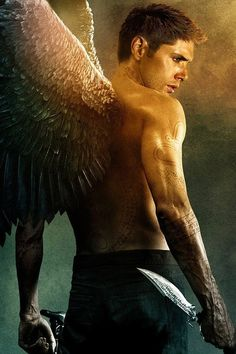 Angel Dean Winchester….I love this one! One of the best fics I ever read was On The Wings of War. YES!