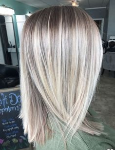Clairol Shimmer Lights Original Shampoo Blonde and Silver 8 oz. ash blonde ombre dark roots silver soft golden beige hair highlights ash blonde… – … - Hairstyles For All Cute Hairstyles For Medium Hair, Winter Hairstyles, Medium Hair Styles, Short Hair Styles, Thin Hairstyles, Hairstyles 2016, Easy Hairstyle, Long Blonde Hairstyles, Bangs Hairstyle