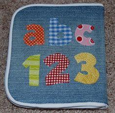 Nap Time Crafts: Denim Baby Book
