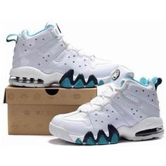 http://www.asneakers4u.com/ New Nike Air Max2 CB 94 White/Jade Charles Barkley Shoes