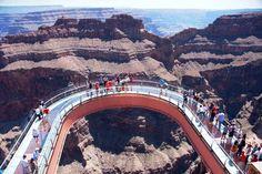 """""""Grand Canyon Skywalk"""". # Arizona, USA."""