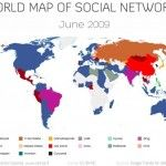 Rețelele de socializare în 2009 și acum