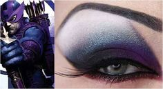 Hawkeye Eyes - Fab Superhero Makeup