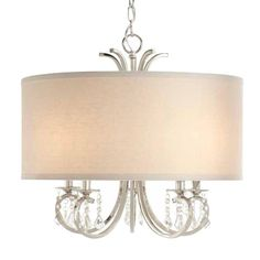 Home Decorators Collection 5-Light Polished Nickel Chandelier-19715-000 - The Home Depot