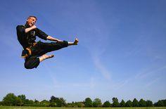Kuk Sool Won Fly Kick by Ichor, via Flickr