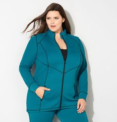 Shop comfortable new loungewear for fall like the plus size Contrast Stitch…