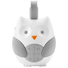 Perfect for your Baby and Nursery Skip Hop Baby Sound Machine: Stroll & Go Portable Baby Sleep Soother, Owl,Skip Hop Baby Sound Machine: Stroll & Go Portable Baby Sleep Soother, Owl, Stands on tabletop or easily attaches Stands on tabletop or easily attaches to strollers, carriers and diaper bags with silicone strapstrollers, carriers and diaper bags with silicone strap Requires three AAA...
