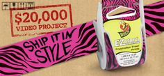 The Duck® Brand EZ Start® Ship It In Style Video Project  http://tongal.com/project/EZstart
