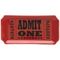 Admit One Tray ($5.4