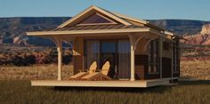 "Small Modular Cottages | of small, efficient ""eco-cottages"" were among the green modular ..."