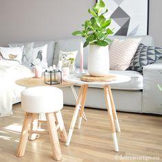 Kleine woonkamer inrichten salontafels