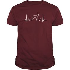 #Doberman Pinscher Heartbeat, Order HERE ==> https://www.sunfrogshirts.com/Pets/Doberman-Pinscher-Heartbeat-168557243-Maroon-Guys.html?9410, Please tag & share with your friends who would love it, #renegadelife #xmasgifts #jeepsafari  #doberman pinscher for sale, doberman pinscher angry, white doberman pinscher  #family #posters #kids #parenting #men #outdoors #photography #products #quotes