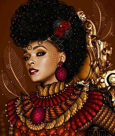 I like the realism and illustration in this! I'd like the final product to have both elements Black Love Art, Black Girl Art, My Black Is Beautiful, Beautiful Artwork, Art Girl, Beautiful Mind, African Girl, African American Art, African Women