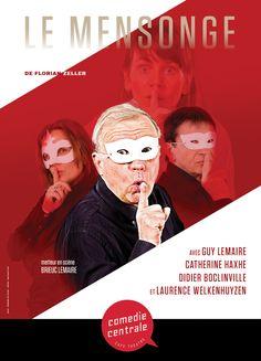 Le Mensonge de Floriant Zeller Café Theatre, Laurence, Movies, Movie Posters, Films, Film Poster, Cinema, Movie, Film