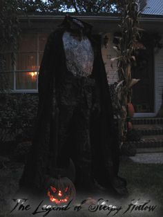 HOLY HALLOW! How to make your own Headless horseman. When im rich i will make this....