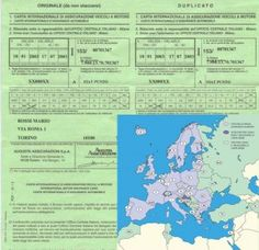 Carta Verde l'Assicurazione Auto all'Estero http://www.assicuralo.it/carta-verde-lassicurazione-auto-allestero/